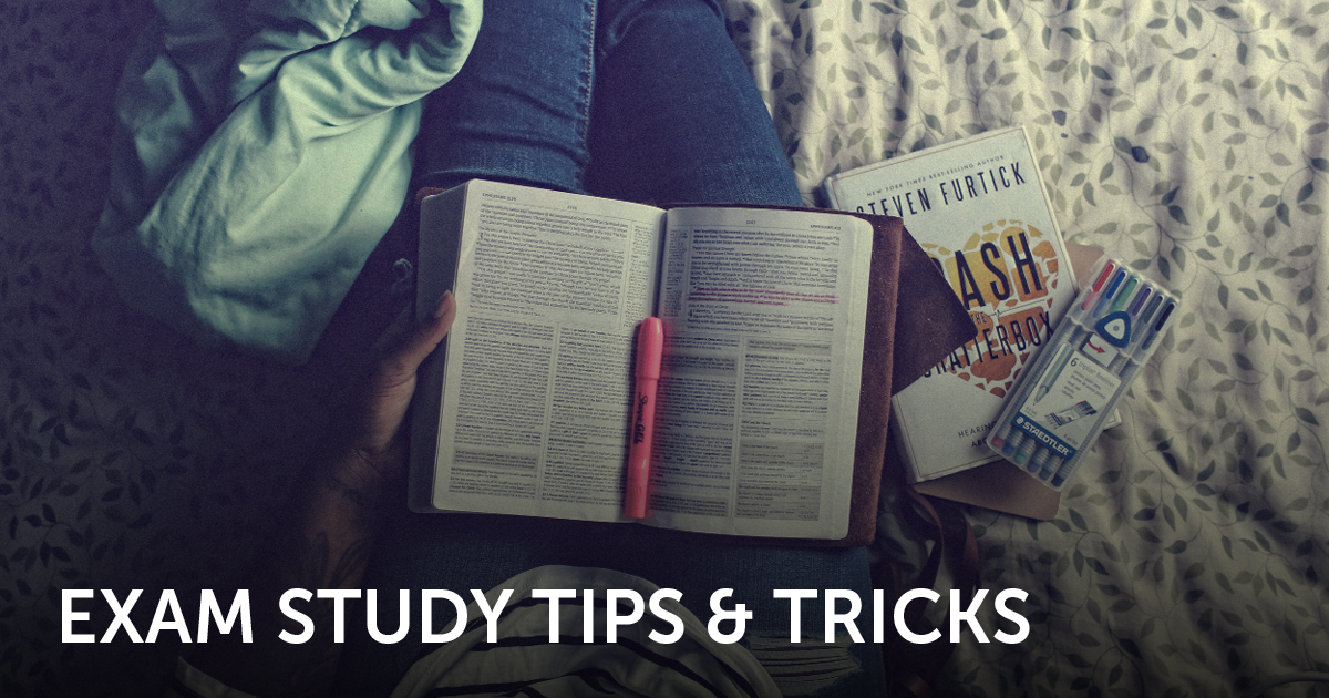 exam study tips for college students