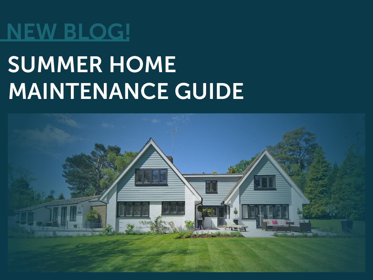 Summer, Home Maintenance, Guide, Tips, Checklist, Summer Home Maintenance Guide