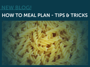 Meal Plan, Tips, Tricks, Noodles